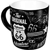 Nostalgic-Art 43012 - Highway 66 The Original Adventure | Retro Tasse | Kaffee-Becher | Geschenk-Tasse | Vintage Geschirr