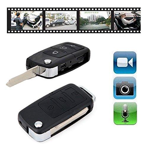 Electro-Weideworld Autoschlüssel Spionagekamera DVR S818 Mini-Auto-Schlüssel-Kamera