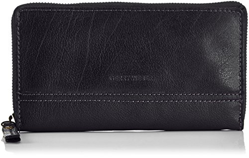 Zip-around Laptop-tasche (Gerry Weber Damen Lugano Purse LH12Z Geldbörsen, Schwarz (black 900), 10x19x2 cm)