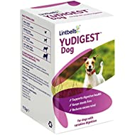 Lintbells YuDIGEST Dog Digestive Health Supplement for Dogs Prone to Tummy Troubles, 120 Tablets