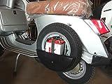 copriruota di scorta protezione cover LML star Piaggio Vespa PX 125/150/151/200 cc
