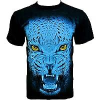 Rock Chang -  T-shirt - Collo a U  - Uomo - Indiano Dagger