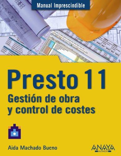 Presto 11. Gestión De Obra Y Control De Costes