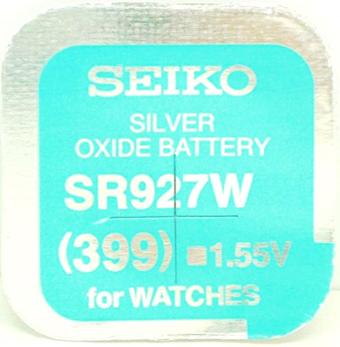 Seiko Batteries All Sizes Button Cell Watch Batteries (SR927W (399)) by Seiko -