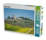 Bei San Gimignano 1000 Teile Puzzle quer (CALVENDO Orte)