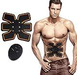 Komfortabel Entspannen drahtlose Elektrische Massagegerät Bauchmuskulatur Toner Muskelstimulator FIT Abdominal- Muskeln Trainer, A, 2.5 cm