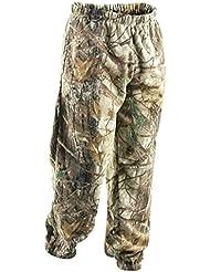 En polaire épaisse pour homme Motif Camouflage Pantalon de survêtement avec ourlet fermé Style Cargo Pantalon de Jogging Sport Casual imprimé