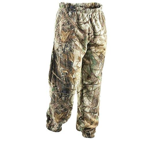 Dickes Fleece Camouflage Herren Hose Sweat Closed Hem, Cargo-Comabt-Stil, Jogging und Fitnessstudio, Freizeit Hosen-Dschungel-Druck (Camouflage-fleece-hose)