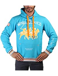 Sudadera Geographical Norway Azul Hombre - RP_Freetown_man_turquoise - S