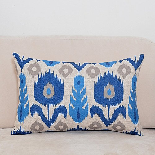 kix-heavy-cotton-pillow-mediterranean-blue-sofa-cushion-pillow-pop-geometry-car-waist-pillow-b-30x50