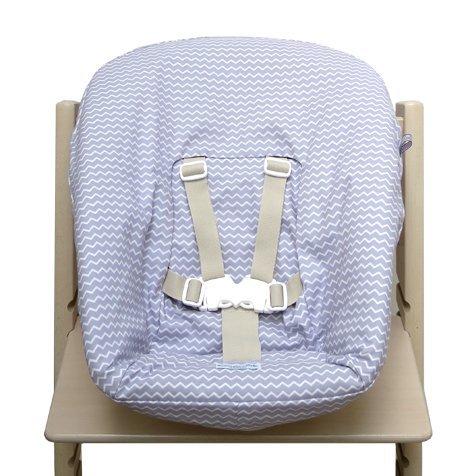 Blausberg Baby - Bezug für Stokke Newborn Set Chevron lila