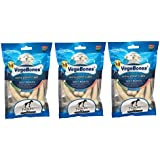 Nap Pet India Pet Treat Hip And Joint Care Calcium Milk Soft Bones For Dog & Pups ( Pack Of 3)