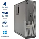 Ordinateur de Bureau Dell Optiplex 3010 USFF - Core i5-3470@3.20GHz - 4Go RAM - 250Go...
