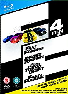 The Fast And The Furious Limited Edition Complete Box Set [Blu-ray] (B002CN2NBW) | Amazon price tracker / tracking, Amazon price history charts, Amazon price watches, Amazon price drop alerts