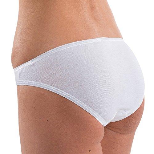 HERMKO 17032 Damen Mini-Slip softweich Dank Modal, Größe:48/50 (XL), Farbe:Cream (hautfarben) - 5
