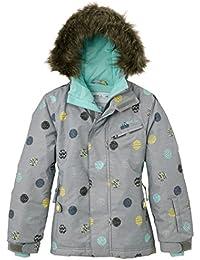 ONeill Skijacke PG Radiant Jacket - Chaqueta de esquí para niña, color gris