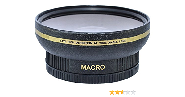 72mm 0 43x Wide Angle Conversion Lens With Macro Camera Photo
