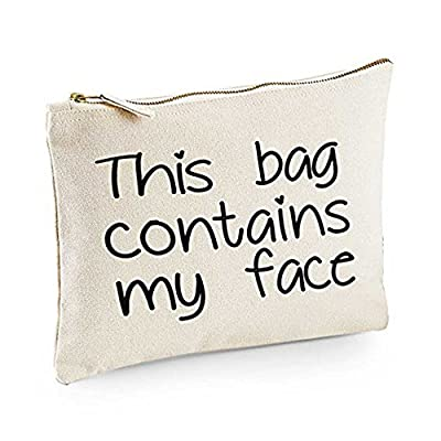 This bag contains my face Make-Up Bag / Accessories case fun gift