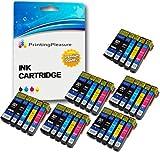 Printing Pleasure 30 Tintenpatronen kompatibel zu Epson 26XL für Epson Expression Premium XP-510 XP-520 XP-600 XP-605 XP-610 XP-615 XP-620 XP-625 XP-700 XP-710 XP-720 XP-800 XP-810 XP-820 - Schwarz/Foto Schwarz/Cyan/Magenta/Gelb, hohe Kapazität