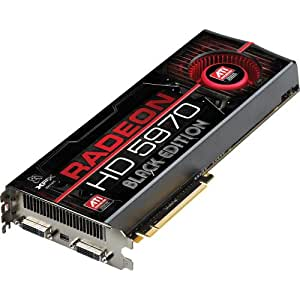 XFX ATI Radeon Hd5970 Graphic Board PCI-e/2GB GDDR5 Memory/Black Edition