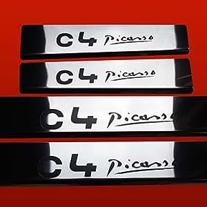 CITROEN C4 PICASSO MK2 C4 PICASSO SEUIL DE PORTE ACIER INOXYDABLE BRILLANT/MIROIR NEW STYLE 411587 C4 PICASSO