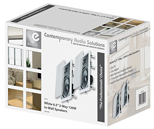 Par HP Altavoz Blanco de Techo empotrable 16.5 cm 120 W Home Cinema