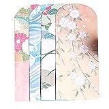 Ruikey Enveloppe peinte de washi de style japonais x 10, enveloppe vintage pour des cartes de voeux...