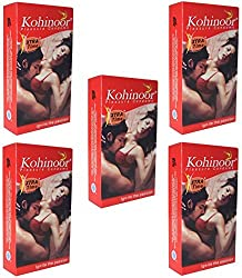Kohinoor Xtra Time 10S Condom (Pink) - Set of 5