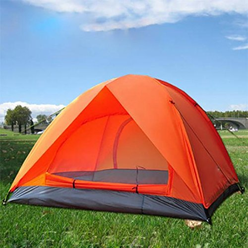 outdoor-double-door-more-than-adhesive-waterproof-camping-tent-camping-tent-anti-uv-vibrant-orange