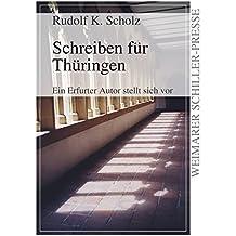 Schreiben für Thüringen: Ein Erfurter Autor stellt sich vor