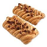 Glazed Maple & Pecan Plait , 2 pastries