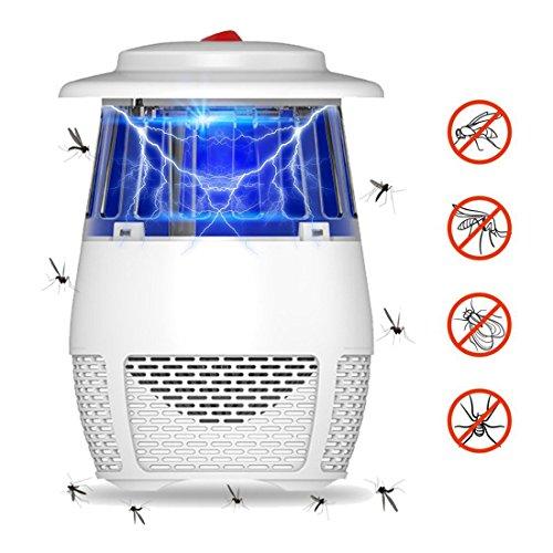 Xigeapg Mueckenschutz, USB LED Photokatalysator Elektronische Schaedlingsbekaempfer, Innen Stille...