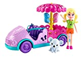 Mattel Polly Pocket dnb58-Zoo Amigos de móvil, Accesorios