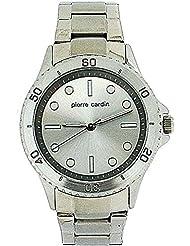 Pierre Cardin Damen-Armbanduhr Analog Quarz Edelstahl W-007-01D