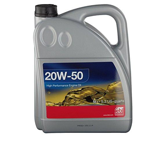 febi bilstein 32922 Motoröl SAE 20W-50 (5 Liter)
