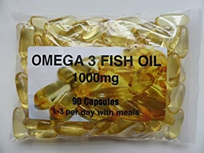 The Vitamin Omega 3 Fish Oil 1000mg (90 Capsules - Bagged) by The Vitamin