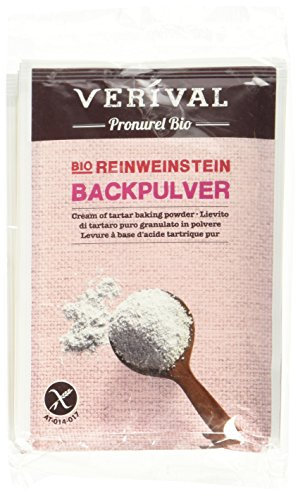 Verival Backpulver Reinweinstein, 3er Pack (3 x 68 g) - Bio
