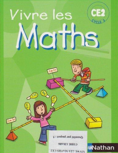 Pack 5ex Vivre les Maths CE2 Fichier Eleve