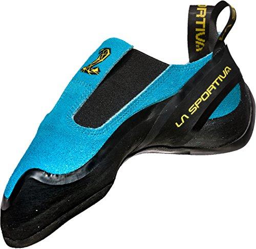 La Sportiva Unisex-Erwachsene Cobra Blue Kletterschuhe, Blau 000, 38.5 EU
