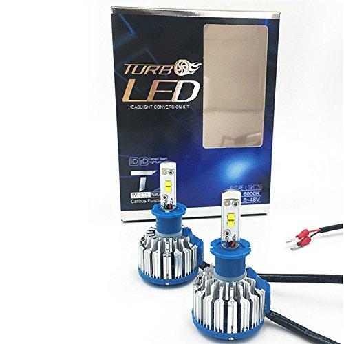 Preisvergleich Produktbild H1 / H3 / H7 / H8 / H9 / H11 / 9005 / HB3 / 9006 / HB4 / 880/881 / H27 / 9012 / HIR2 / H4 Auto High Power Licht Auto Scheinwerfer Auto Frontleuchte 7000lm 6000 Karat