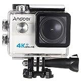 """Andoer Ultra HD Action-Sport-Kamera 2.0 """"LCD 16MP 4K 25FPS 1080P 60FPS 4-fach Zoom WiFi 25mm 173 Grad-Weit Objektiv Wasserdicht 30M Auto-DVR DV Cam Tauchen Fahrrad Outdoor Activity"""