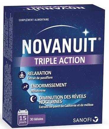 SANOFI-AVENTIS Novanuit Sommeil 15 jours - 30 gélules