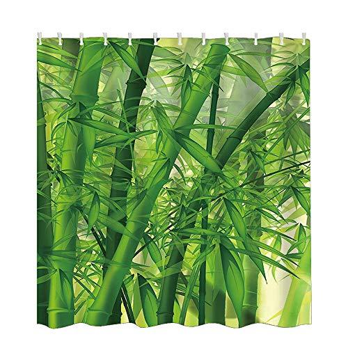 Jintime Mode Wasserdicht Duschvorhang & 12 Haken Bad 150x180cm (59x71inch) Verschiedene Muster Vorhang Polyester Duschvorhang (C)
