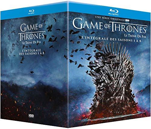 Game of Thrones (Le Trône de Fer) - L'intégrale des saisons 1 à 8 [Francia] [Blu-ray]