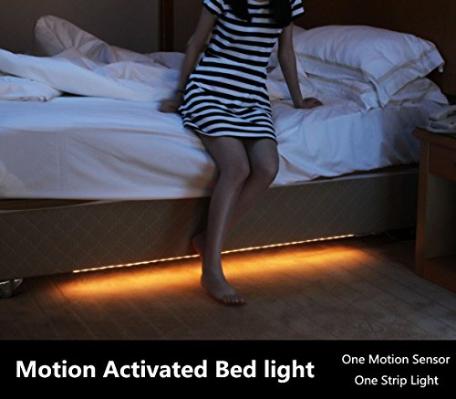 Amagle-Motion-Activated-Bed-Light-12M-Flexible-LED-Strip-Night-Illumination-with-Automatic-Shut-Off-Timer-Sensor-for-bedroomcabinetstairs