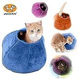 United Pets–Cat Cave Letto, 35x 35cm, Colore: Viola/Grigio