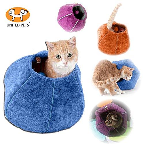 united-pets-cat-cave-cuccia-e-gioco-a-palla-colore-azzurro-e-turchese-cuccia-da-oe-35-cm