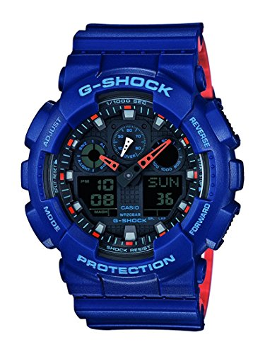 Gold Analog Casio Uhr (G-Shock Herren Armbanduhr GA-100L-2AER)
