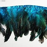 du09Deep Sea Blau Double Layer Hahn Feder 15