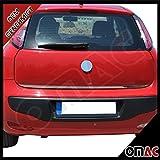 Fiat Grande Punto / Punto Evo Chrom Heckleiste Edelstahl aus